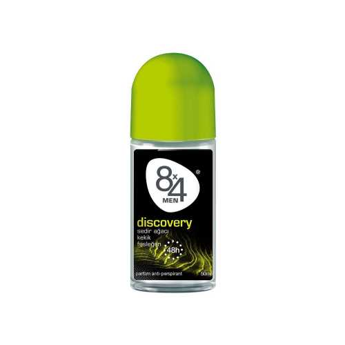 8X4 50ML ROLL-ON DISCOVERY MEN